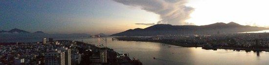 Novotel Danang Premier Han River: View from balcony