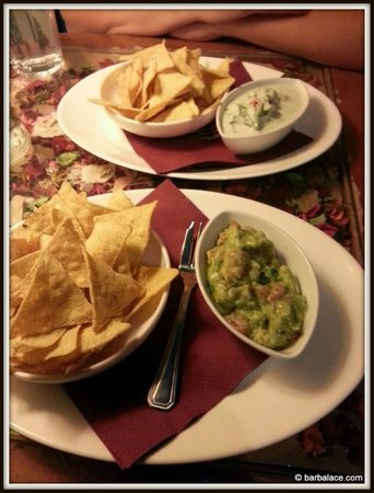 Maitrea : Chips with Guacamole