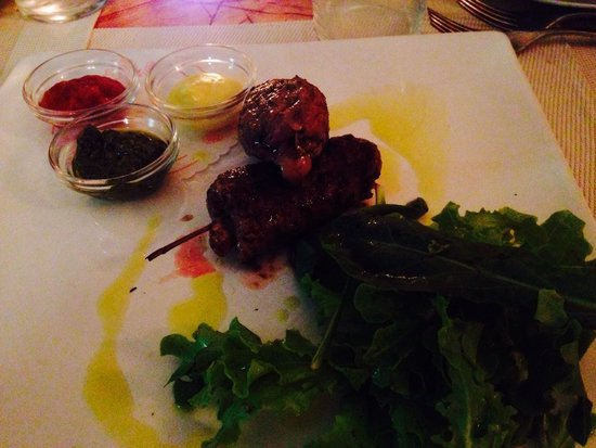 "Club Culinario Toscano da Osvaldo : ""Kebab medievale"""