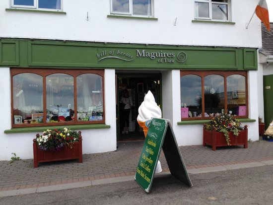 McGuire's Coffee Shop: Maguires at the Hill of Tara