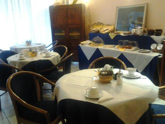 Hotel Viterbo Inn: La sala della prima colazione