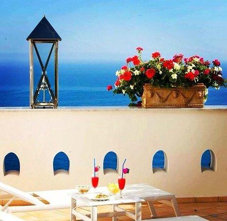 Palazzo Marzoli Resort : Terrace in Room