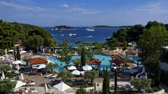 Amfora Hvar Grand Beach Resort: Вид из номера