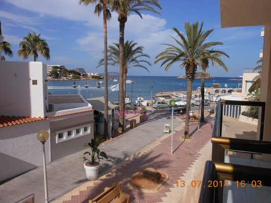 AluaSoul Ibiza: view from balcony
