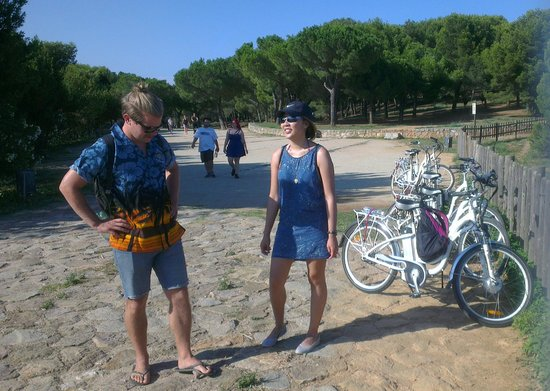 Fat Tire Bike Tours Barcelona: ebikes