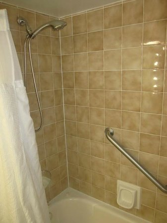The Business Inn & Suites : Shower