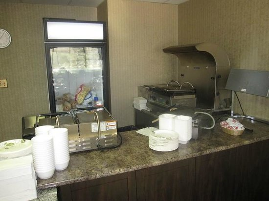The Business Inn & Suites : Breakfast area