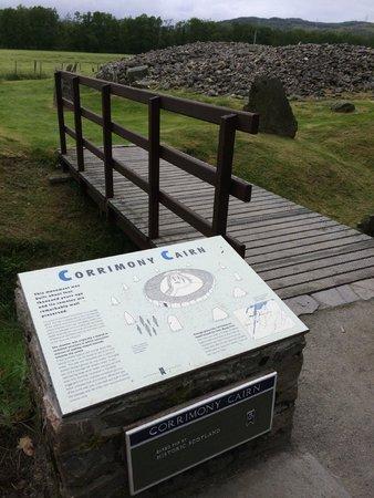 Corrimony Chambered Cairn: Info 2