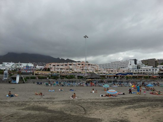 Sol Sun Beach Apartments : Strandansicht