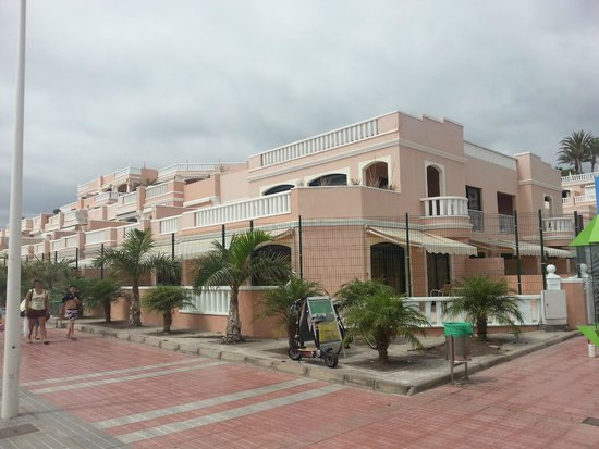 Sol Sun Beach Apartments : Promenadenansicht
