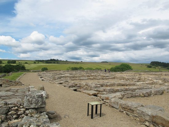 Vindolanda: View of a part of the fort