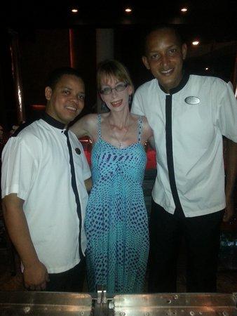 Paradisus Punta Cana Resort: Our Friends at M Bar