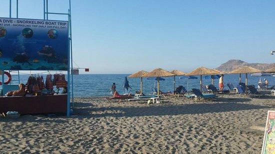 Platania Beach: Strand