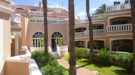 Sol Sun Beach Apartments : Blick auf Speisesaal