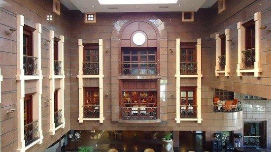 GHL Relax Hotel Sunrise: Vista lobby desde ascensor!