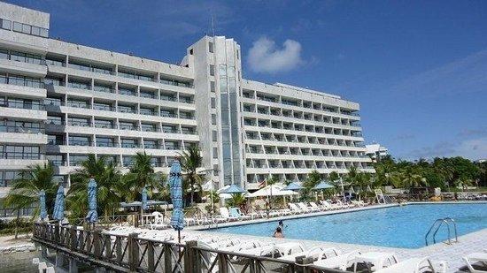 GHL Relax Hotel Sunrise: Vista bar piscina!