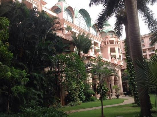 The Leela Palace Bengaluru: From the garden
