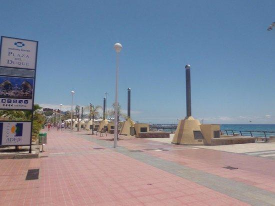 Sol Sun Beach Apartments: Promenade mit Abluftanlagen