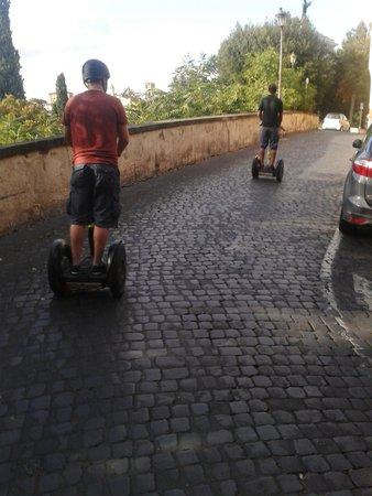 Rome by Segway : Segways!