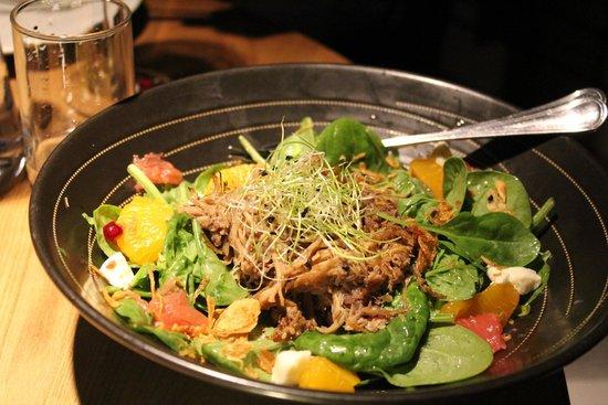 Grillmarkadurinn : Duck Salad