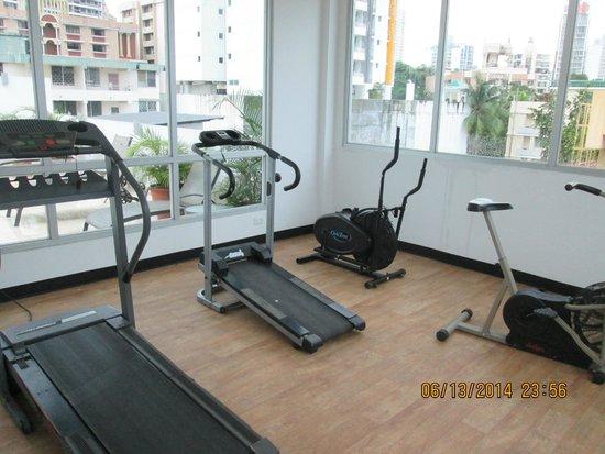 Wyndham Garden Panama Centro Hotel: work out room