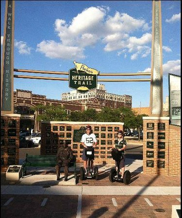 Segway the Fox Tours: Packers Heritage Tour