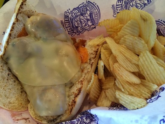 Cousin Vinny's: Buffalo chicken sub