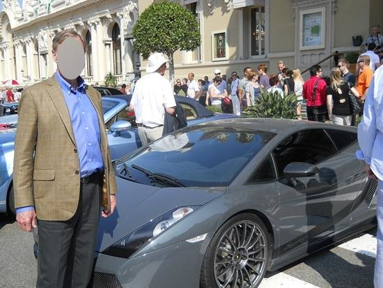 Casino of Monte-Carlo : Luxury cars parked in front of the Casino Monte Carlo