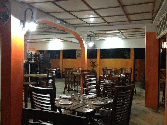 La Rougaille Creole : Interior of restaurant