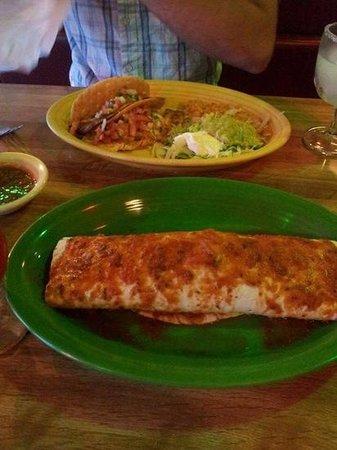 La Fuente Restaurant: burrito et tacos
