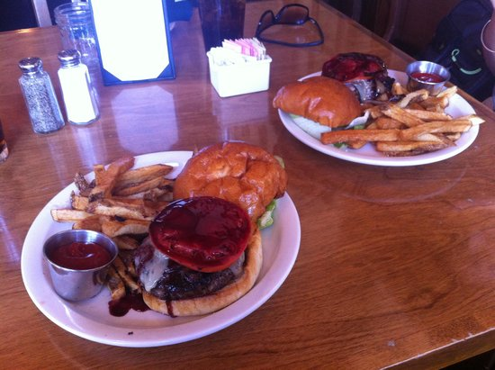 CJ's Grill: Burger of the day