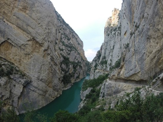 Sant Esteve de la Sarga, Spanien: Mont Rebei