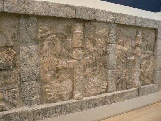 Museo Maya de Cancun: One of many artifacts on site