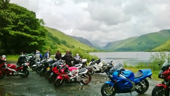 Pen-y-Bont Hotel: We welcome motorcycle and other clubs.