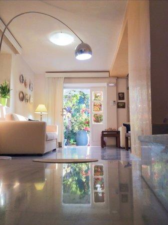 Villa Kallergi - Athena Kallergi lounge