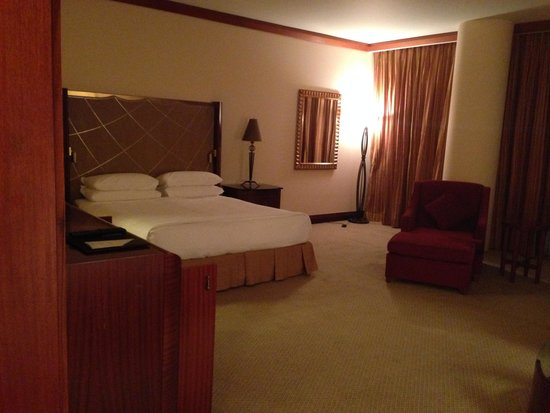 Al Faisaliah Hotel : the room