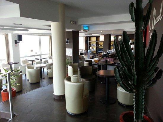 Novotel Thalassa Le Touquet : Le bar !