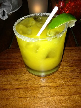 Ginger : pineapple chile margarita? i think