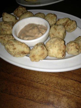Ginger: Dorado dorado, fried mahi mahi nuggets - get some