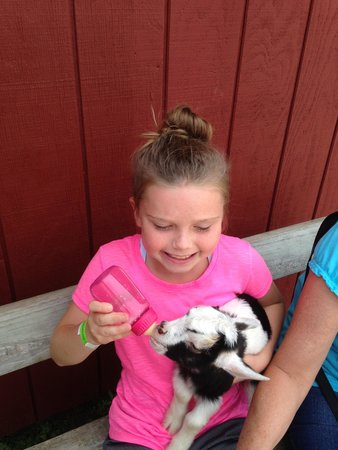 The Farm: My daughter and her kid!