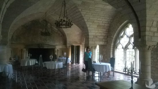 Hattonchatel Chateau : The Dining Room