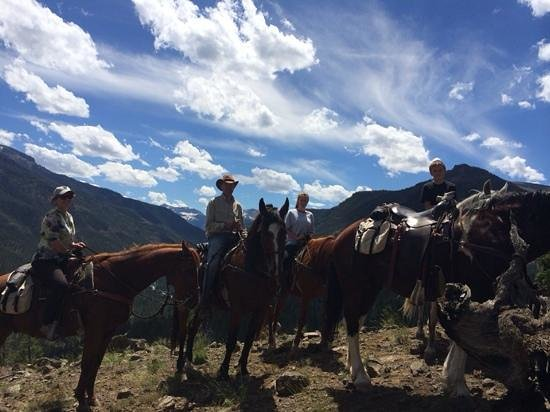 Crossed Sabres Ranch: High above Crossed Sabres