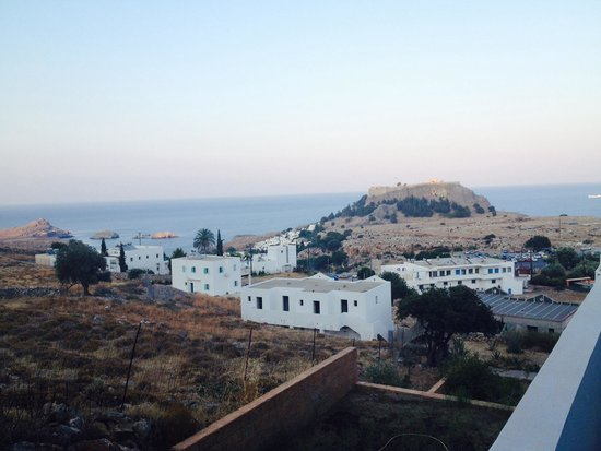 Lindos Gardens Resort Complex: View from room