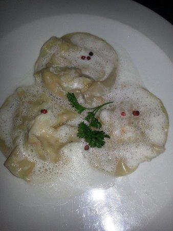 La Villa Restaurant: Lobster ravioli app.  Amazing