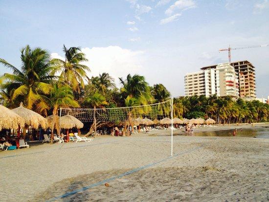 Estelar Santamar Hotel & Convention Center: Beach Front