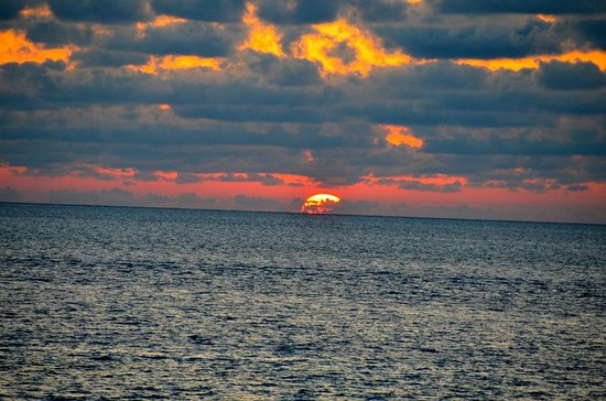 Cambridge Beaches: Sunset from Restaurant
