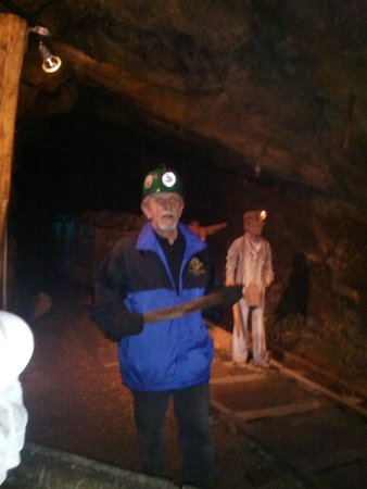Lackawanna County Coal Mine: Our tour guide