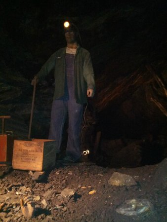 Lackawanna County Coal Mine: One of the people in our tour group got crushed by stones lol