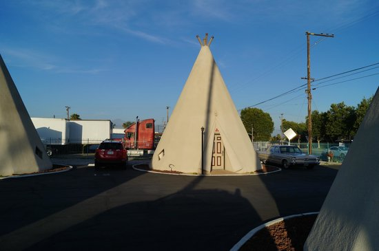 Wigwam Motel: Our room