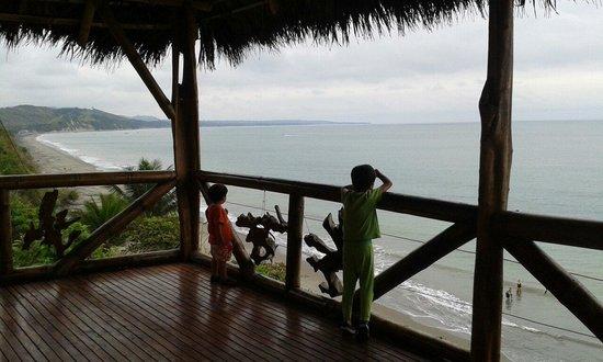El Acantilado Beach Hotel: Disfrutando la vista